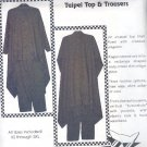 Sewing Pattern PAW Prints, Taipei Top and Trousers, XM - SL
