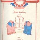 "Sewing Pattern, Mountain Sewin Patterns, Women's Fiberfill Vers, Sizes 36 - 48"" bust"