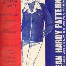 Sewing Pattern, Jean Hardy Patterns 380, Western Jacket, Sizes 6 - 20