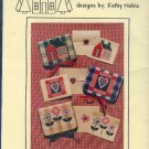 Sewing Pattern, Village Peddler, Stationary Holders, One Size