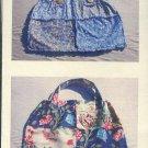 "Sewing Pattern, Romance Bag, 18  X 27"""