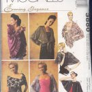 McCall's Sewing Pattern 3880, Fancy coverups, capes and stoles, sizes 4 - 22
