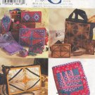Simplicity Sewing Pattern 7045, Bags and accessories holders, One Size