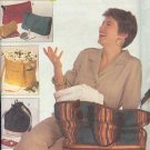 Simplicity Sewing Pattern 8657 Six Bags, One Size each
