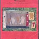 Sewing Pattern, Patrick & Co., 77, Hand on Heart Mini quilt, 8 X 11 inches