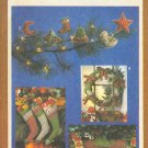 Sewing Pattern, Simplicity 9207 Christmas Ornament, sox, wreath, tree skirt.