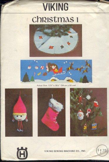 Sewing Pattern, Viking, Christmas, Skirt, Ornaments, Hanging, ornaments