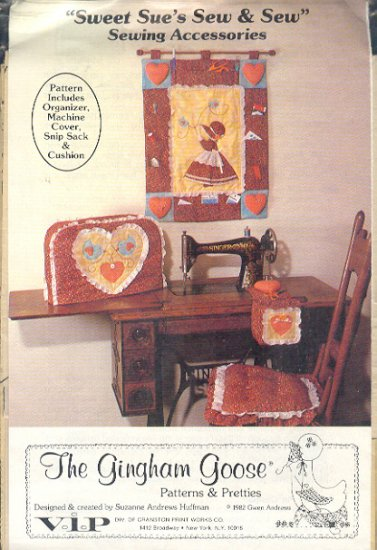 Sewing Pattern, Sweet Sue's Sew and Sew, Sewing Accessories, Gingham Goost, One Size