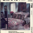 McCall's Sewing Pattern 736, Bedroom Essentials, all sizes