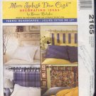 McCall's Sewing Pattern 2165, Four headboards on rods, One Size