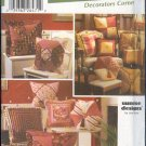 Simplicity Sewing Pattern 5605 Pillows, 7 styles