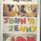 Simplicity Sewing Patterns 8139 Alphabet Pillows