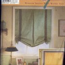 Simplicity Sewing Pattern 9117, Window Treatment, Shades, Six options