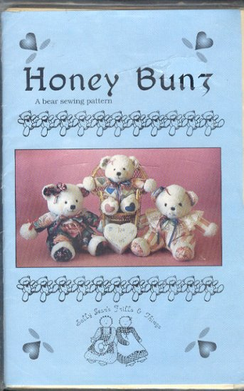 Sewing Pattern, Honey Bunz, 13 and 16 inches