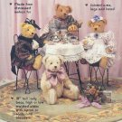 "Sewing Pattern, Goosberry Hill, Camile, 18"" Bear plus clothes"