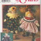"Simplicity Sewing Pattern 8899, 17"" Doll, cat and clothing"