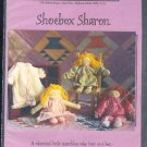 "Sewing Pattern, Piecemakers, Shoebox Sharon, 12"" doll and clothes"