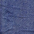 "Sewing Fabric Cotton Medium Blue 1.5 yds X 44"" No. 110"
