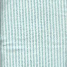 "Sewing Fabric Cotton Green stripe 1-1/3 yds X 44""  No. 144"