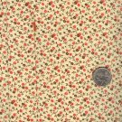 Sewing Fabric Cotton Small Print Orange & Yellow  No. 204