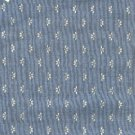 Sewing Fabric Cotton Small Print White on blue-grey   No. 205