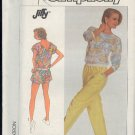 Sewing Pattern, Simplicity 7952 Pants, Short and Top, good for overlock, 10-16
