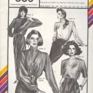 "Stretch & Sew Sewing Pattern 356, Classsic Blouse with Scarf, Size 30 - 46"" chest"