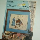 Cross Stitch Pattern THE UPSTAIRS SEWING ROOM Dress and old sewing machine