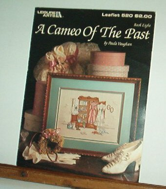Cross Stitch Pattern A CAMEO OF THE PAST   Clothes in a wardrobe, Sweet