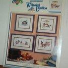 Cross Stitch Patterns WHIMSICAL BIRDIES Silly Bluebirds 4 Designs