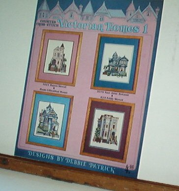Cross Stitch Patterns 4 SAN FRANCISCO VICTORIAN HOMES - Real Homes