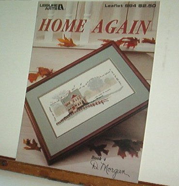 Cross Stitch Patterns HOME AGAIN  Country House  Pretty