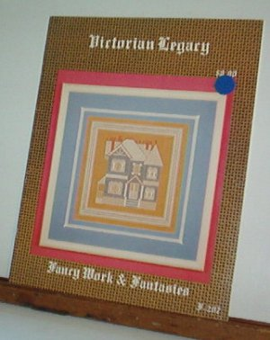 Cross Stitch Pattern VICTORIAN LEGACY Very elaborate with detailed instruction