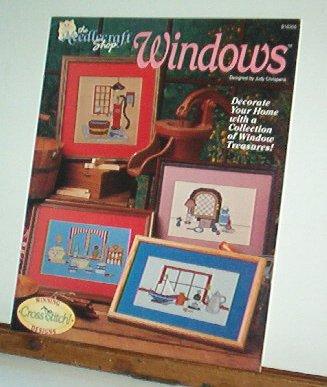 Cross Stitch Patterns WINDOWS  4 Designs