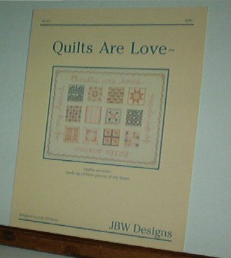 Cross Stitch Patterns, Quilts are Love, 1  design