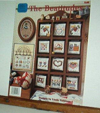 Cross Stitch Pattern, The Beatitudes, 12 designs, Lovely
