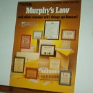 Cross Stitch Patterns, Murphy's Law, 16 silly sayings
