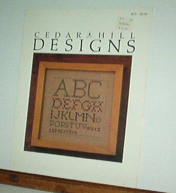Cross Stitch Patterns, Eye Chart style alphabets, 3 designs