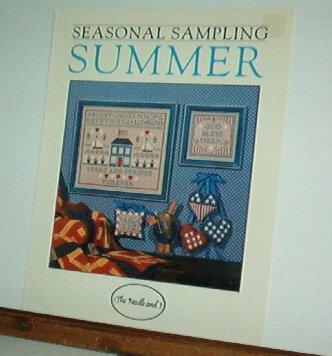 Cross Stitch Patterns, Summer Sampler, House, Patriotic, Cute 4 designs