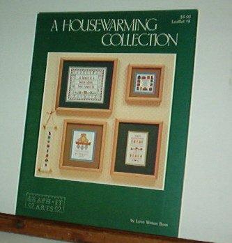 Cross Stitch Patterns, Housewarming Collection, four designs