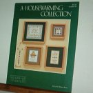 Cross Stitch Patterns, Housewarming Collection, four designs