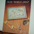 Cross Stitch Patterns,  Old World Map, l design