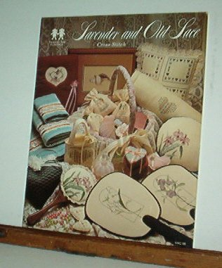 Cross Stitch Patterns, Lavender and Old Lace, Florals, 16 designs