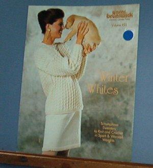 Knitting Patterns, Brunswick 931 Winter Whites 4 designs