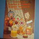 Crochet Patterns 1970's flowers, shawls, baby, potholders, more