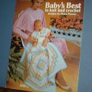 Crochet Patterns, BABY's BEST knit too hats booties layettes leggings cute