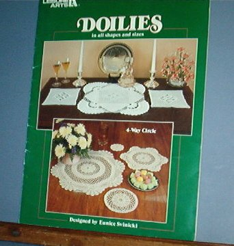 Crochet Patterns, DOILIES all shapes and sizes, chairbacks, platemats