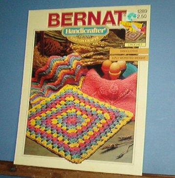 Crochet Patterns, DISHCLOTHS 5 designs, handy