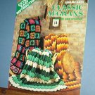 Crochet Patterns, 3 Classic AFGHANS, easy knit too