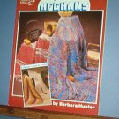 Nine patterns for  AFGHANS to Knit or Crochet, easy to difficult, very nice